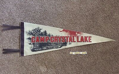 Camp Crystal Lake - Friday The 13Th, Replica Flag