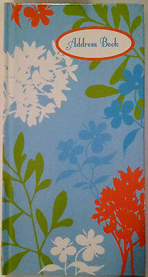 NEW Hardcover Address Book Light Blue FREE Postage