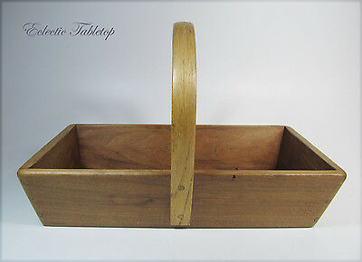 Hand Crafted Shaker Style Wooden basket
