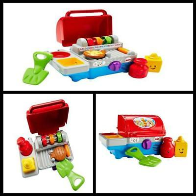 Fisher Price Smart Stages Learning Grill Kids Pretend play Toy Cooking BBQ new