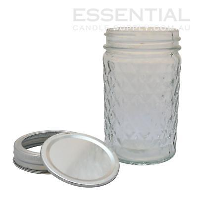 Mason Jar, Quilted 226ml, Pack 48