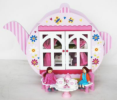 Wooden Teapot Doll House