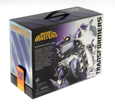 Hasbro Transformers Shockwave's Lab Beast Hunters SDCC Comic Con Exclusive 2013