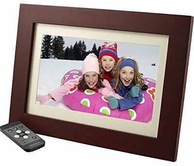 "Insignia 10"" Digital Photo Frame - Espresso"