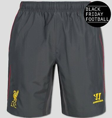 Liverpool Training Shorts - Official Warrior - Mens - *Black Friday Sale*