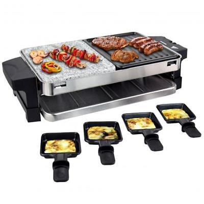 wmf 3 raclette grill inkl granitplatte f r 8 personen eur 129 90 picclick de. Black Bedroom Furniture Sets. Home Design Ideas