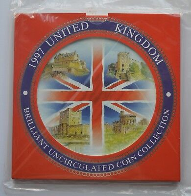 1997 Royal Mint United Kingdom Brilliant Uncirculated Coin Set Collection