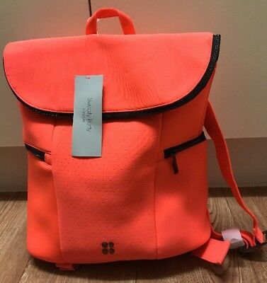 BNWT SWEATY BETTY ALL SPORTS BACKPACK - FLUORESCENT PINK - £75:00 - Super Cool!