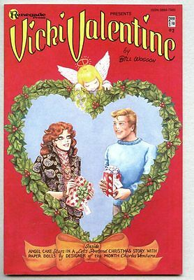 Vicki Valentine #2-1985 vf/nm Bill Woggon with Paper Doll Pages