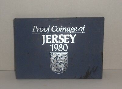 1980 Proof Coinage of Jersey New Jersey 6 coins MINT FREE SHIPPING Collectors
