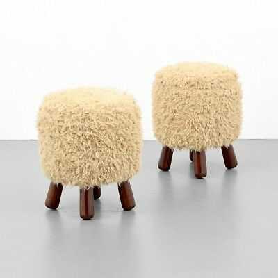 Pair of Stools, Manner of Philip Arctander Lot 394