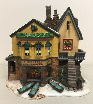 Department 56 Dept The Grapes Inn Dickens Village 5th Edition 1996 5753-4