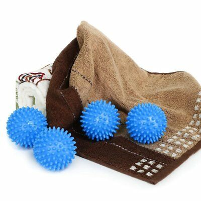 Dryer Balls 4 or 8 Blue- Reusable Dryer Balls Replace Laundry Fabric Softener