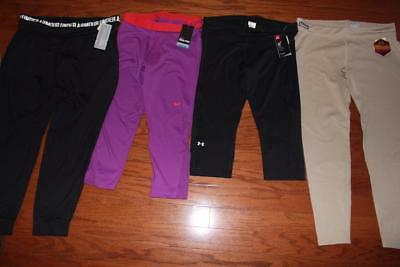 Lot Nike Pro Capris Under Armour Womens Pants Tactical Infrared Ua Studio Xl Nwt
