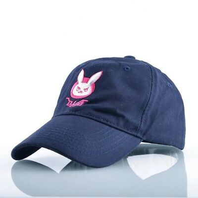 UK SELLER & FREE UK DELIVERY, Overwatch DVA Baseball Cap, Blue Unisex Hat