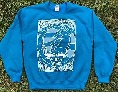 GD50 Stained Glass Design Sweatshirt ALL SIZES Grateful Dead Dead and Company