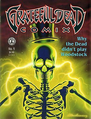 GRATEFUL DEAD COMIX N0. 5 - Why the Dead didn't play Woodstock