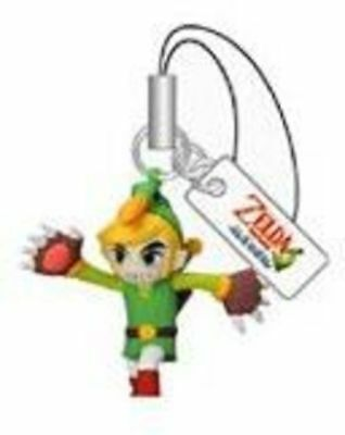 "Yujin The Legend of Zelda Mascot Figure Set *RARE* ~1.5"" - Link with Mole Mitts"