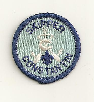 BSA Circle 10 Council Camp Constantin SKIPPER scout patch -undated- 2 inch round