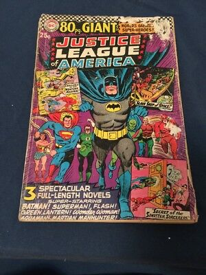 JUSTICE LEAGUE OF AMERICA # 48 * 80 PAGE GIANT PR/FR Low Grade