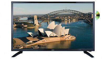 """BRAND NEW AKAI 32"""" HD LED LCD TV with BUILT-IN DVD PLAYER 12 MONTH WARRANTY"""
