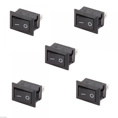 Lots 10Pcs Auto Car Truck Round Rocker 12V 16A 2-Pin ON/OFF Toggle SPST Switches