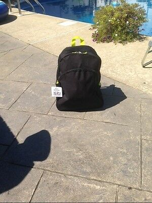 Kids School Travel Backpack  #6A--Black  New Item With Tags