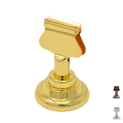 GrayBunny GB-6810B Place Card Holder, 12 pack, Gold, Table Card Holder Table Men