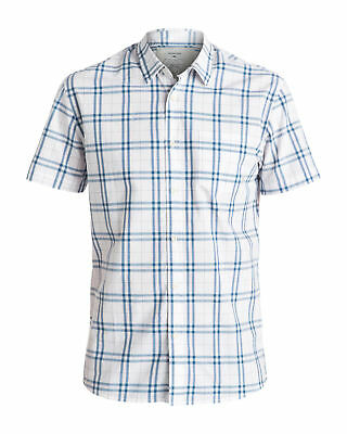 NEW QUIKSILVER™  Mens Everyday Check Short Sleeve Shirt Tops