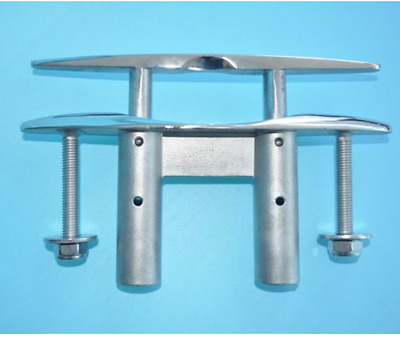 """8"""" Pull-Up Cleat / Pop-Up Flush Mount Lift 316 Stainless Steel Boat / Marine"""