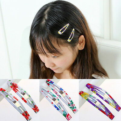 6pcs Butterfly Animals Hair Clip Hairpin Snaps Accessories For Girls Kids Baby