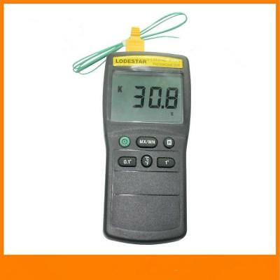 LS1319C Handheld LCD Digital Thermometer Thermometer with Temperature Probe