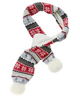 NEW Gymboree girls HOLIDAY SHOP fair isle scarf one size NWT
