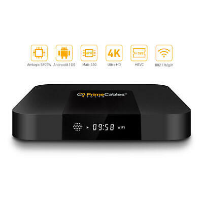 HD Android Smart TV Box RK3229 4K Quad Core 8GB WiFi H.265 Media Player + Remote
