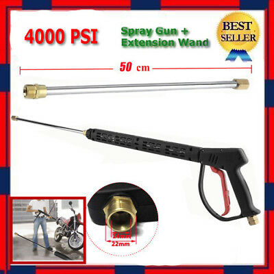 Deluxe SPRAY GUN & WAND with COUPLER for Power Pressure Washers - 4000 PSI 7 GPM