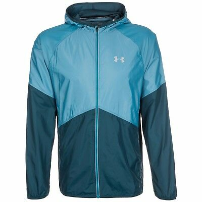 Under Armour Mens Storm No Breaks Hooded Running Jacket Size S M L Rrp £65