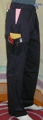 NWT, Med Couture Men's Utility Pants Navy, S, M, L, XL, 2XL,  All Tall Cot Blend