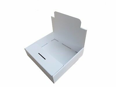Charity Collection/Display Boxes - Plain White