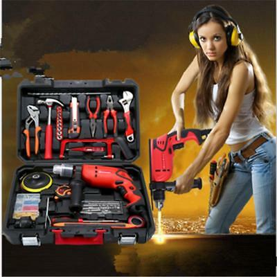 Power Tools Hand Drill Household Impact Drill Screwdriver Multifunctional Set