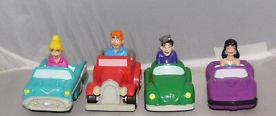 ARCHIES Comic Complete SET Burger King KIDS MEAL Archie Jughead Betty Veronica