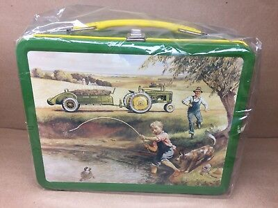 "John Deere ""Turtle Trouble"" Metal Lunchbox  Item # 22002"