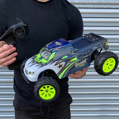 Radio Control Car. Remote Rc Buggy Very Fast Large Ready To Run 2.4G Extreme