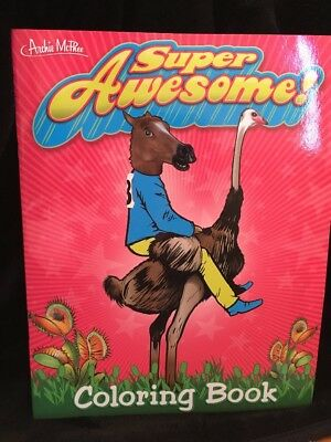 Super Awesome Coloring Book New For Color Book Artists & Oddity Collectors!