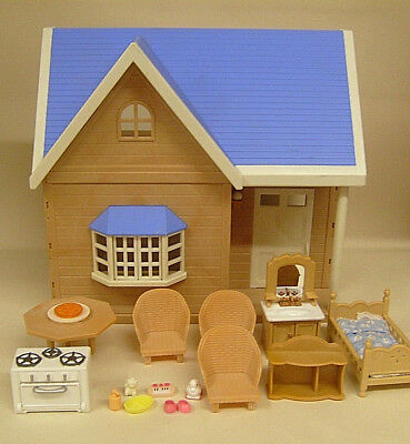 Sylvanian Families Starter House - Furnished