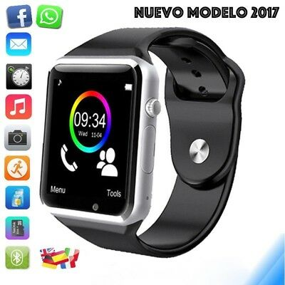 Reloj inteligente bluetooth tactil smartwatch android iPhone Samsung iOS LG HTC