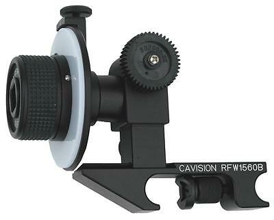 Cavision Basic Mini Single Wheel Follow Focus for 15mm Rods - (old gear axle)