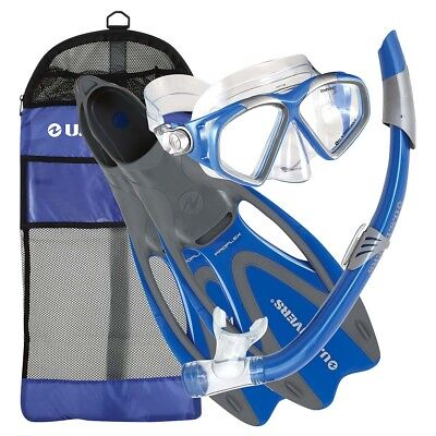NEW US Divers Cozumel Mask, Snorkel & Fin Set   from Rebel Sport