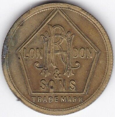 R.H. London & Son 6d Token***Collectors***