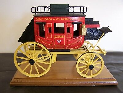 Stagecoach. Wood Hand made by Oscar Cortes