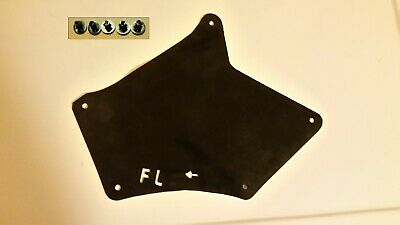 Front L Splash Shield W/Clips For Toyota 4Runner 2003-2018 Fender Apron Seal A